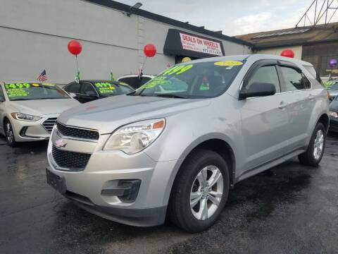 2010 Chevrolet Equinox for sale at Deals On Wheels Auto Group in Irvington NJ