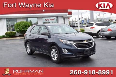 2018 Chevrolet Equinox for sale at BOB ROHRMAN FORT WAYNE TOYOTA in Fort Wayne IN