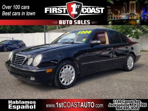 2001 Mercedes-Benz E-Class for sale at 1st Coast Auto -Cassat Avenue in Jacksonville FL
