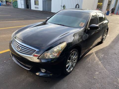 2013 Infiniti G37 Sedan for sale at The Auto Toy Store in Robinsonville MS