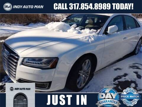 2015 Audi A8 L for sale at INDY AUTO MAN in Indianapolis IN