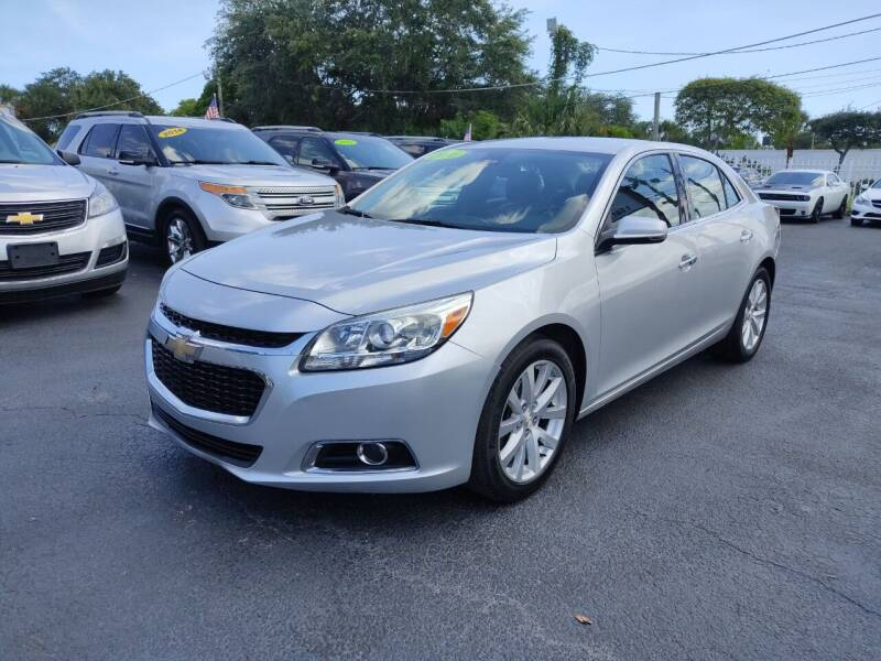 2016 Chevrolet Malibu Limited for sale at Bargain Auto Sales in West Palm Beach FL