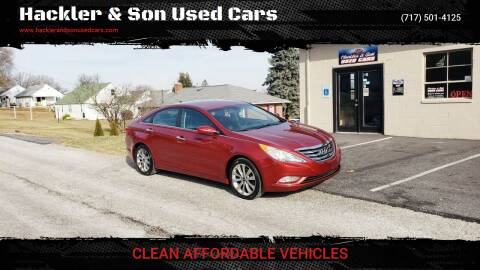 2011 Hyundai Sonata for sale at Hackler & Son Used Cars in Red Lion PA