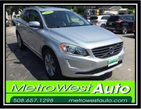 2016 Volvo XC60 for sale at Metro West Auto in Bellingham MA