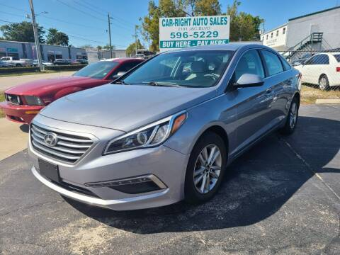 2015 Hyundai Sonata for sale at CAR-RIGHT AUTO SALES INC in Naples FL