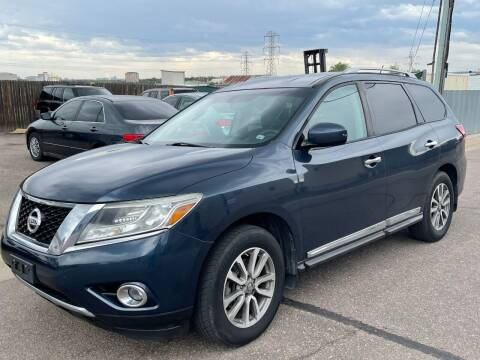 2013 Nissan Pathfinder for sale at STATEWIDE AUTOMOTIVE LLC in Englewood CO