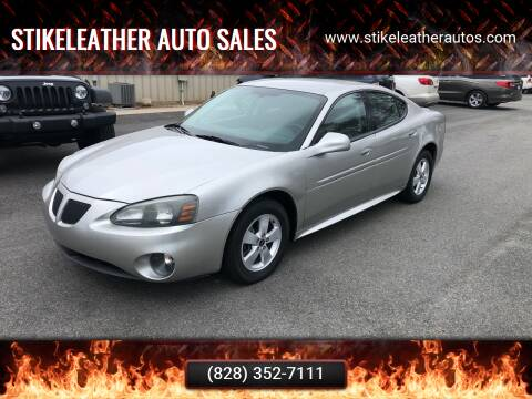 2006 Pontiac Grand Prix for sale at Stikeleather Auto Sales in Taylorsville NC