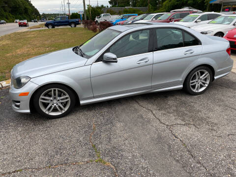2013 Mercedes-Benz C-Class for sale at TOP OF THE LINE AUTO SALES in Fayetteville NC