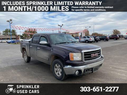 2008 GMC Sierra 1500 for sale at Sprinkler Used Cars in Longmont CO
