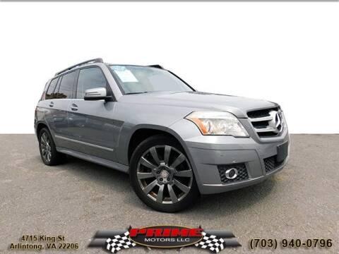 2012 Mercedes-Benz GLK for sale at PRIME MOTORS LLC in Arlington VA