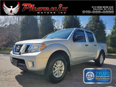 2014 Nissan Frontier for sale at Phoenix Motors Inc in Raleigh NC