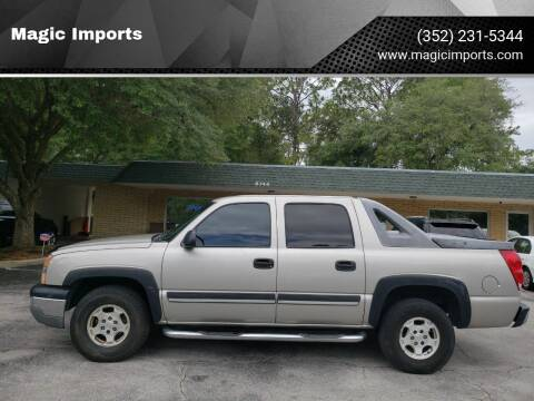 2004 Chevrolet Avalanche for sale at Magic Imports in Melrose FL