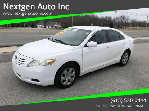 2009 Toyota Camry for sale at Nextgen Auto Inc in Smithville TN