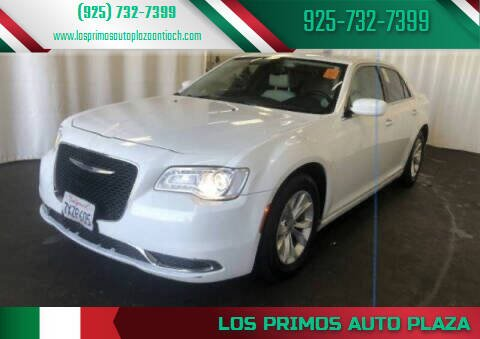 2016 Chrysler 300 for sale at Los Primos Auto Plaza in Antioch CA