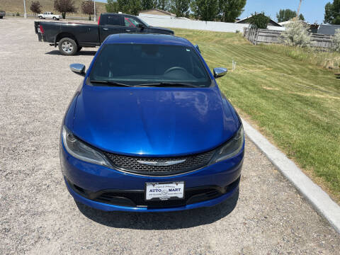 2015 Chrysler 200 for sale at GILES & JOHNSON AUTOMART in Idaho Falls ID