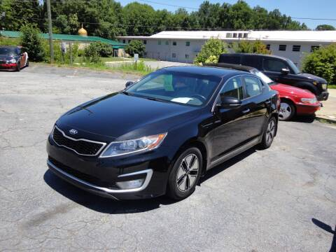 2013 Kia Optima Hybrid for sale at HAPPY TRAILS AUTO SALES LLC in Taylors SC