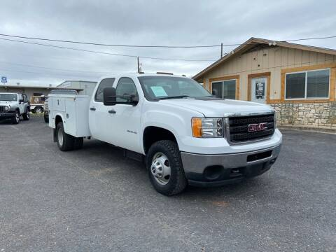 2013 GMC Sierra 3500HD for sale at The Trading Post in San Marcos TX