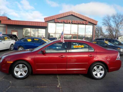 2009 Ford Fusion for sale at Super Service Used Cars in Milwaukee WI