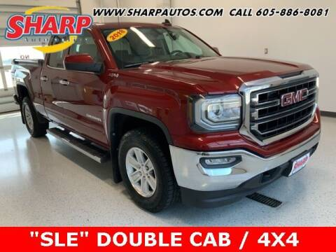 2018 GMC Sierra 1500 for sale at Sharp Automotive in Watertown SD