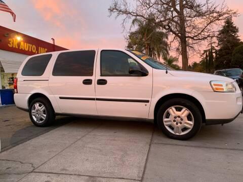 2008 Chevrolet Uplander for sale at 3K Auto in Escondido CA