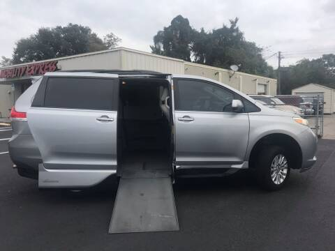 2013 Toyota Sienna for sale at The Mobility Van Store in Lakeland FL