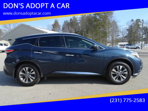 2015 Nissan Murano for sale at DON'S ADOPT A CAR in Cadillac MI