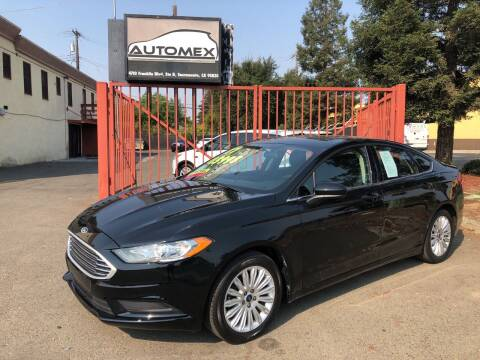 2017 Ford Fusion for sale at AUTOMEX in Sacramento CA
