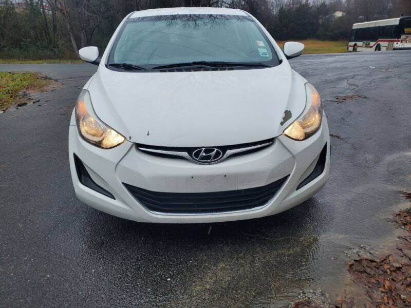 2014 Hyundai Elantra for sale at Dukes Automotive LLC in Lancaster SC