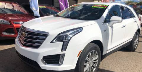 2017 Cadillac XT5 for sale at Duke City Auto LLC in Gallup NM