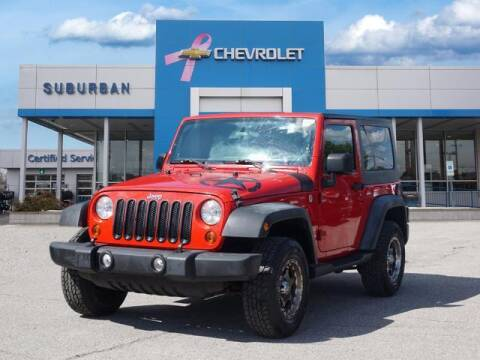 2011 Jeep Wrangler for sale at Suburban Chevrolet of Ann Arbor in Ann Arbor MI