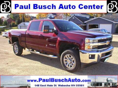 2016 Chevrolet Silverado 3500HD for sale at Paul Busch Auto Center Inc in Wabasha MN