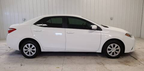 2015 Toyota Corolla for sale at Ubetcha Auto in St. Paul NE