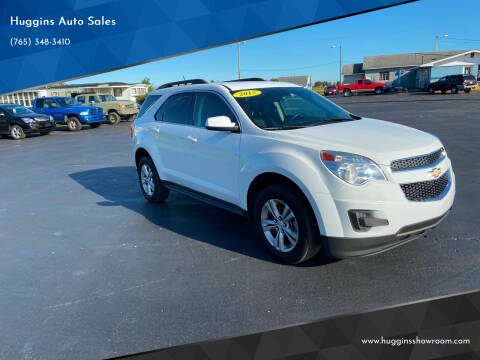 2015 Chevrolet Equinox for sale at Huggins Auto Sales in Hartford City IN