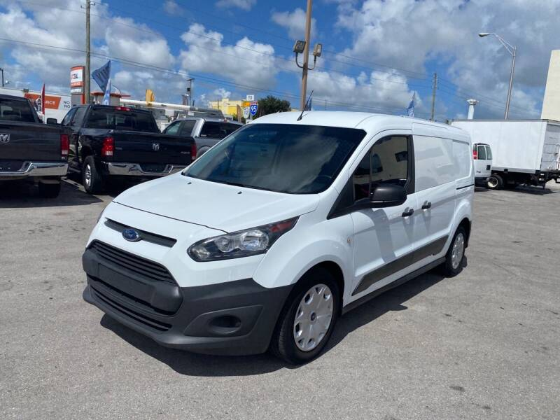 2017 Ford Transit Connect Cargo for sale at MANA AUTO SALES in Miami FL