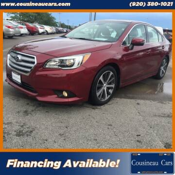 2016 Subaru Legacy for sale at CousineauCars.com in Appleton WI