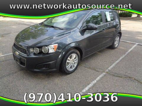 2015 Chevrolet Sonic for sale at Network Auto Source in Loveland CO