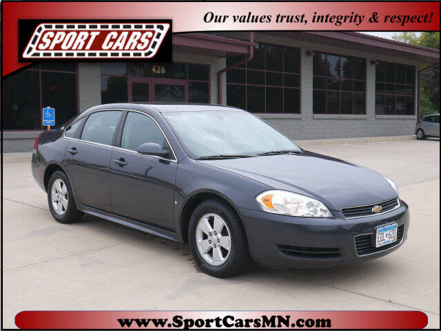 2009 Chevrolet Impala for sale at SPORT CARS in Norwood MN