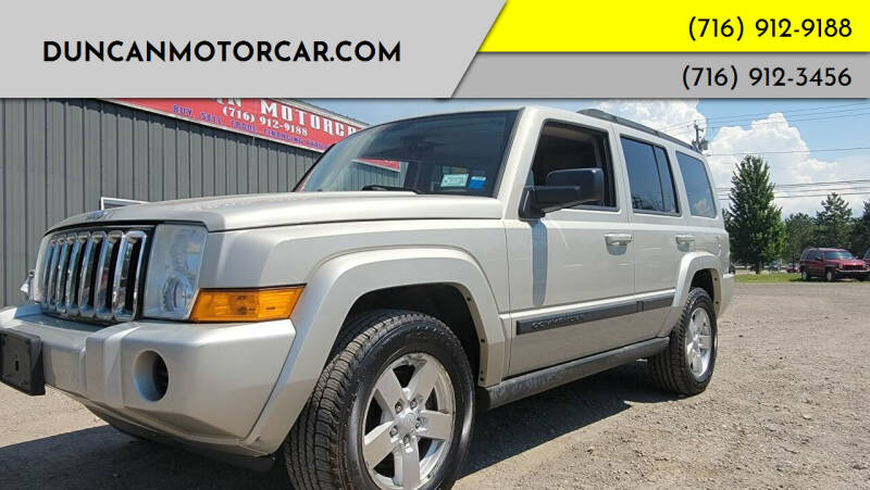 2007 Jeep Commander for sale at DuncanMotorcar.com in Buffalo NY