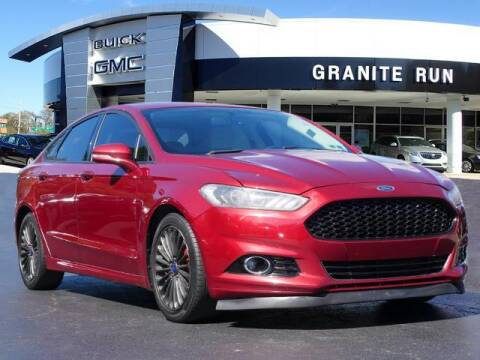 2015 Ford Fusion for sale at GRANITE RUN PRE OWNED CAR AND TRUCK OUTLET in Media PA