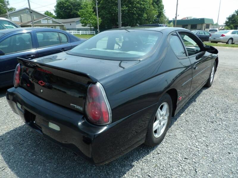2004 Chevrolet Monte Carlo for sale at English Autos in Grove City PA