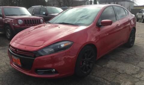 2015 Dodge Dart for sale at Knowlton Motors, Inc. in Freeport IL