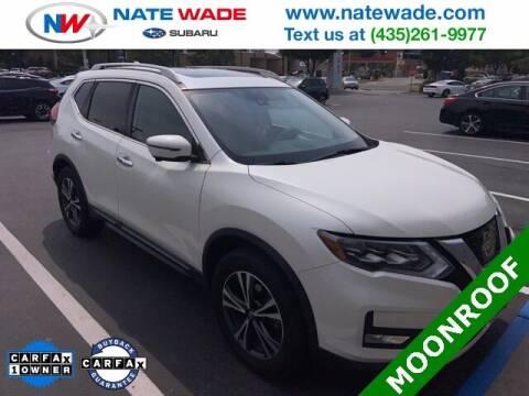 2017 Nissan Rogue for sale at NATE WADE SUBARU in Salt Lake City UT