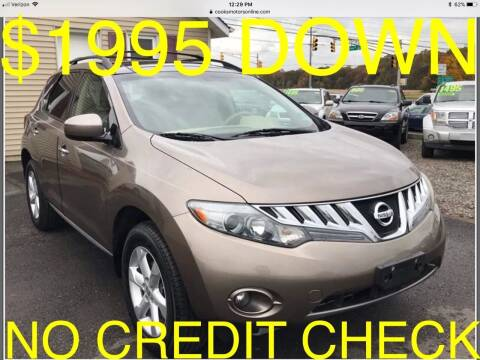 2010 Nissan Murano for sale at Cooks Motors in Westampton NJ