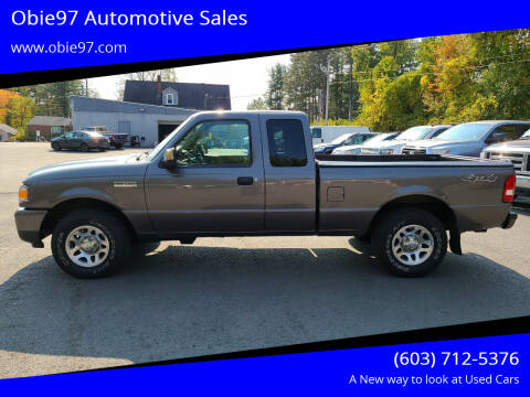 2011 Ford Ranger for sale at Obie97 Automotive Sales in Londonderry NH