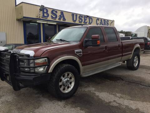2008 Ford F-350 Super Duty for sale at BSA Used Cars in Pasadena TX