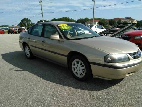 2004 Chevrolet Impala for sale at Kelly & Kelly Supermarket of Cars in Fayetteville NC
