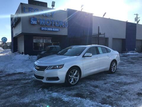 2017 Chevrolet Impala for sale at Legacy Motors in Detroit MI