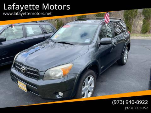 2008 Toyota RAV4 for sale at Lafayette Motors 2 in Andover NJ