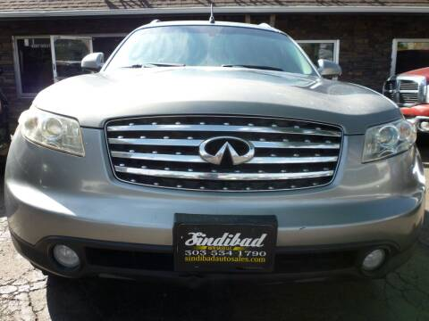 2004 Infiniti FX35 for sale at Sindibad Auto Sale, LLC in Englewood CO