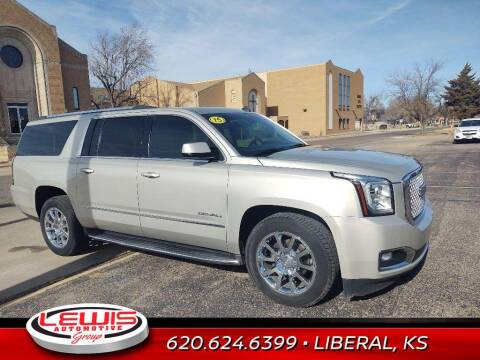2015 GMC Yukon XL for sale at Lewis Chevrolet Buick Cadillac of Liberal in Liberal KS